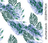watercolor seamless pattern... | Shutterstock .eps vector #1018947814