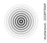 grey concentric rings.... | Shutterstock .eps vector #1018975069