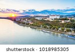 view on bratislava old town...   Shutterstock . vector #1018985305