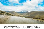 andean landscape in salinas de...   Shutterstock . vector #1018987339