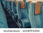 bus passenger seats abstract... | Shutterstock . vector #1018991044