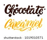 """""""chocolate"""" and """"caramel"""" hand... 