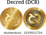set of physical golden coin...   Shutterstock .eps vector #1019011714