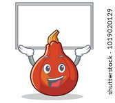 up board red kuri squash... | Shutterstock .eps vector #1019020129