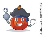 pirate red kuri squash... | Shutterstock .eps vector #1019020135