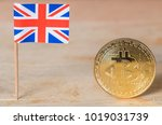 united kingdom mini flag and... | Shutterstock . vector #1019031739