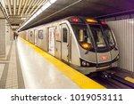 toronto  canada   october 22 ... | Shutterstock . vector #1019053111