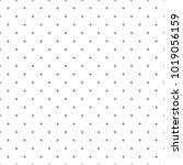cross pattern seamless black... | Shutterstock .eps vector #1019056159