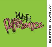 make the difference ambition