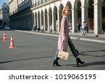 paris october 2  2015. samantha ...   Shutterstock . vector #1019065195