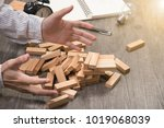 insolvency of executive placing ...   Shutterstock . vector #1019068039