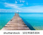 living is easy calm meditation  | Shutterstock . vector #1019085304