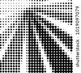 abstract grunge grid polka dot... | Shutterstock . vector #1019097079
