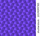 triangle seamless violet... | Shutterstock .eps vector #1019099785