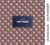 vector packaging seamless... | Shutterstock .eps vector #1019105689