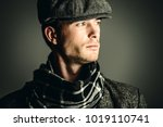 male beauty  fashion. portrait... | Shutterstock . vector #1019110741