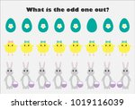 what is the odd one out for... | Shutterstock .eps vector #1019116039
