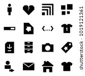 origami style icon set   man... | Shutterstock .eps vector #1019121361