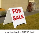 a close up on a sign in front... | Shutterstock . vector #10191262