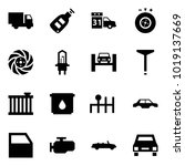 origami style icon set   car...   Shutterstock .eps vector #1019137669