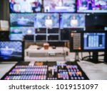 blur image video switch of... | Shutterstock . vector #1019151097