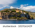 lipari island the largest of... | Shutterstock . vector #1019161429
