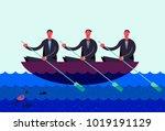 vector business illustration ... | Shutterstock .eps vector #1019191129