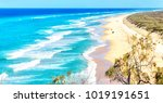 In  Australia  The  Beach Of...
