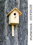 Wooden Man Made Birdhouse...