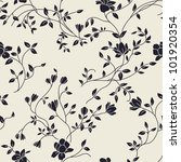 floral seamless background   Shutterstock .eps vector #101920354