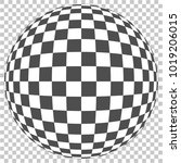 geometric color texture in ball ... | Shutterstock .eps vector #1019206015