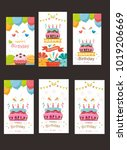 Pack Of Happy Birthday Card...