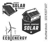 energy efficiency eco energy... | Shutterstock .eps vector #1019207107
