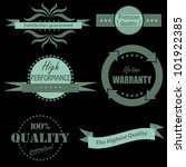 vector illustration of set of... | Shutterstock .eps vector #101922385