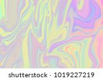 colorful holographic pattern. | Shutterstock . vector #1019227219
