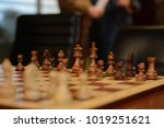 chess figures on chessboard | Shutterstock . vector #1019251621