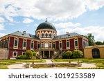 state castle veltrusy with park ... | Shutterstock . vector #1019253589
