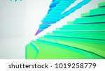 abstract white and colored... | Shutterstock . vector #1019258779