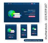 responsive website ui for...