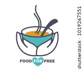 food for free chrity event...   Shutterstock .eps vector #1019267551
