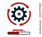 update software icon. concept... | Shutterstock .eps vector #1019279545