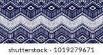 ikat geometric folklore... | Shutterstock .eps vector #1019279671