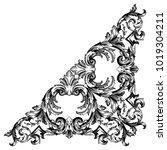 classical baroque vector of... | Shutterstock .eps vector #1019304211