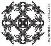 classical baroque vector of... | Shutterstock .eps vector #1019311579