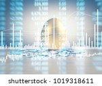 golden a easter egg isolated | Shutterstock . vector #1019318611