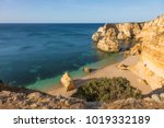 top view of beautiful marinha... | Shutterstock . vector #1019332189