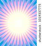 colorful rays background | Shutterstock .eps vector #1019337775