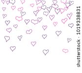 hand drawn hearts. background.  ... | Shutterstock .eps vector #1019338831
