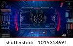 sci fi futuristic interface...