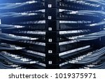 large internet router.large... | Shutterstock . vector #1019375971